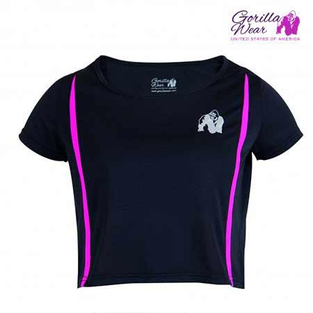 GorillaWear Women's Columbia Crop Top