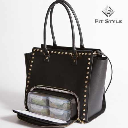"The ""BRANDY"" Ultimate All-In-One Meal Management Purse Tote"