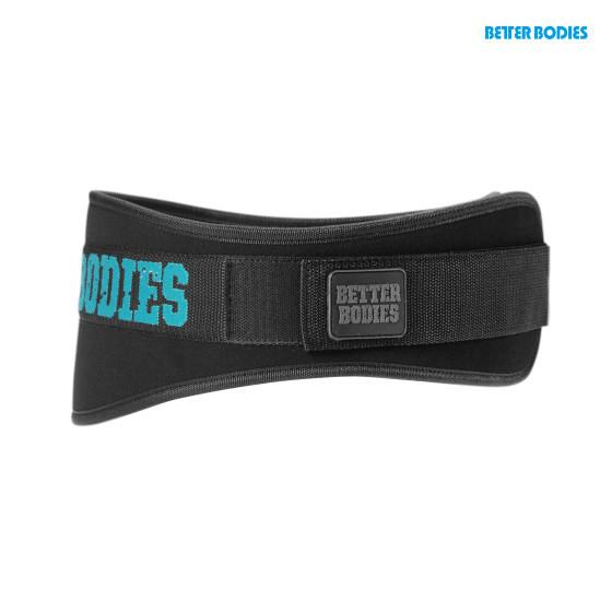 Better Bodies Women's Gym Belt Aqua