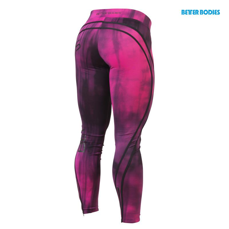 Better Bodies Grunge Tights Hot Pink