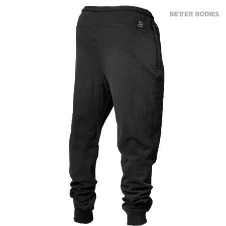 Better Bodies Men's Tapered Sweatpant black