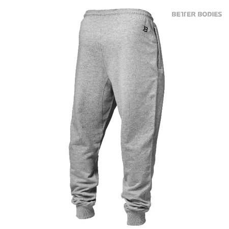 Better Bodies Men's Tapered Sweatpant grey