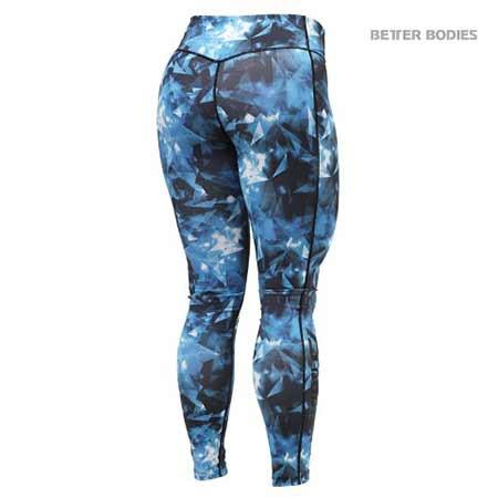 Better Bodies Crystal Tights Blue