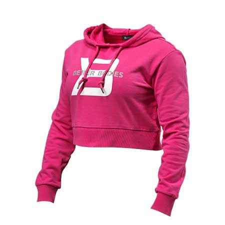 Better Bodies Cropped Hoodie Sweatshirt