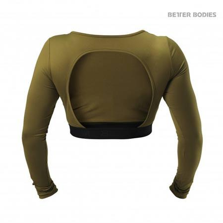 Better Bodies Chelsea Cropped Long Sleeve Top