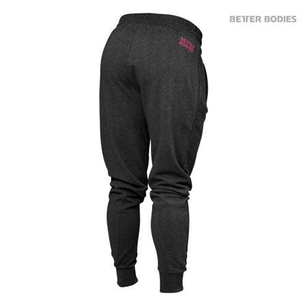 Better Bodies Women's Joggers Sweatpants Antracite back