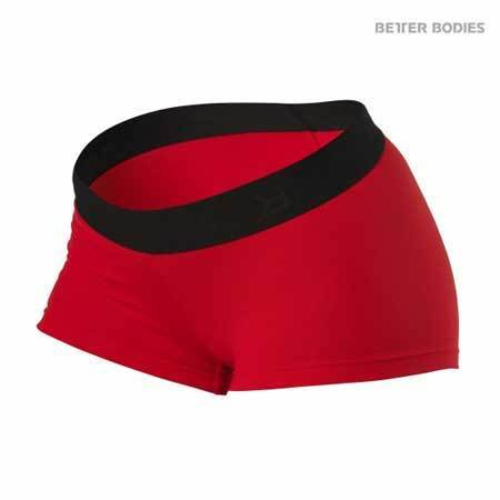 Better Bodies Fitness Hot pants Red Black