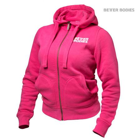 Better Bodies Pink Soft Hoodie