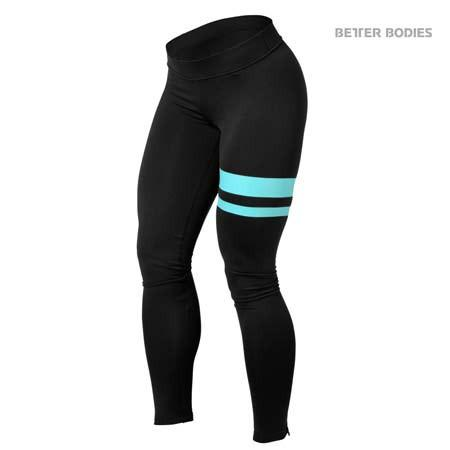 Better Bodies Varsity Tights Aqua