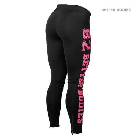 Better Bodies Varsity Tights Pink