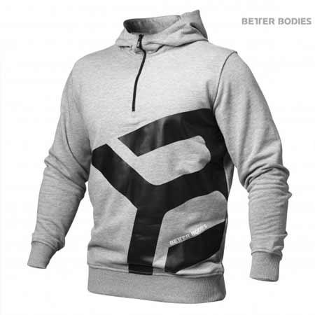 Better Bodies Brooklyn Zip Hoodie gray