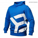 Better Bodies Brooklyn Zip Hoodie Blue