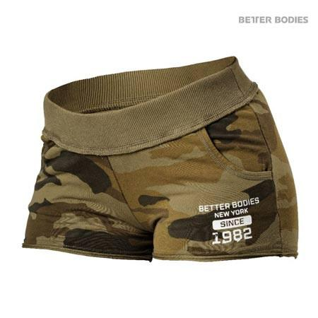 Better Bodies Rough Sweat Shorts Camo