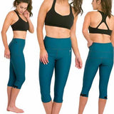 DELFIN SPA Heat Maximizing Capris - Blue