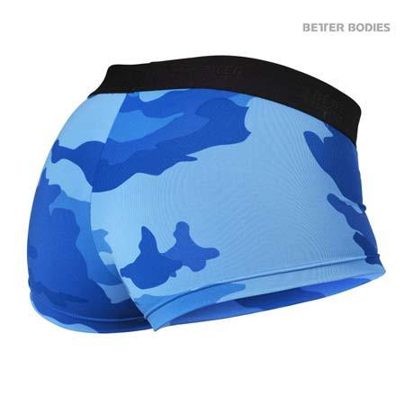 Better Bodies Fitness Hot pant blue camo