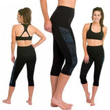 DELFIN SPA Heat Maximizing Capris - Mystic Blue