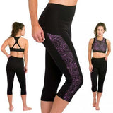 DELFIN SPA Heat Maximizing Capris - Mystic Purple
