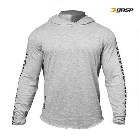 GASP NO COMPROMISE HOODIE GREY