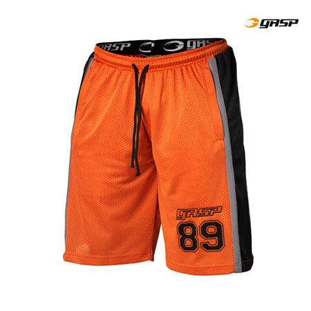 GASP MESH SHORTS orange flame