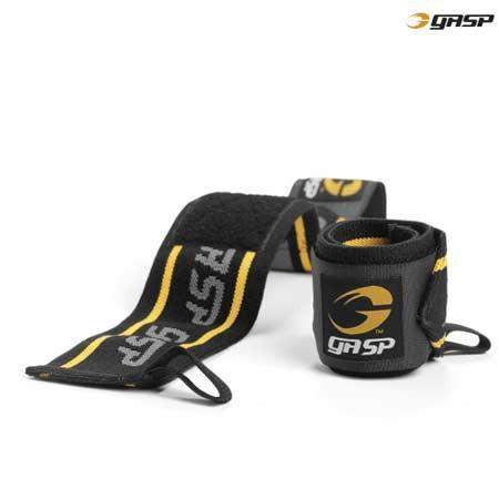 GASP Wrist Wraps Black Yellow