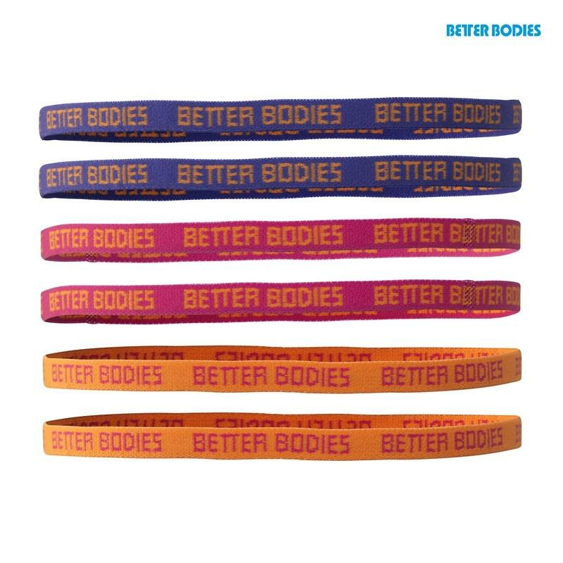 Better Bodies Haidbands Pink Combo
