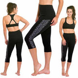 DELFIN SPA Heat Maximizing Capris - Mystic Maze