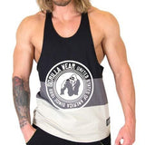 Gorilla Wear Nevada Stringer Tank Top - Black/Gray