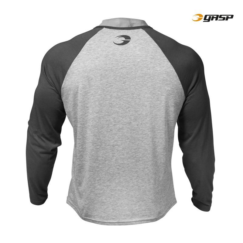 GASP Raglan Long Sleeve Tee