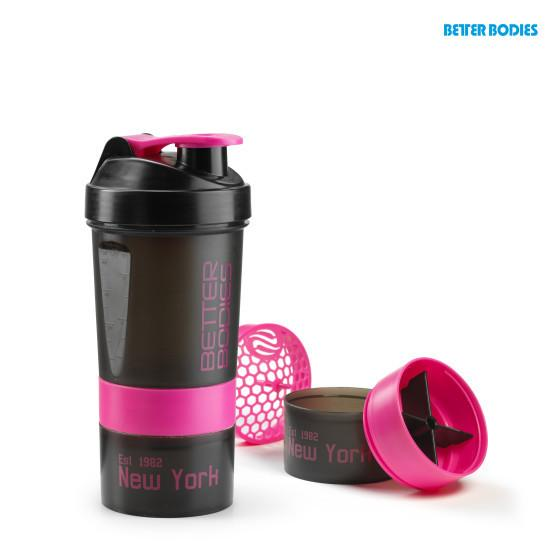 Better Bodies Pro Shaker 600 BLACK/PINK