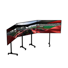 Load image into Gallery viewer, Next Level Racing Free Standing Triple Monitor Stand