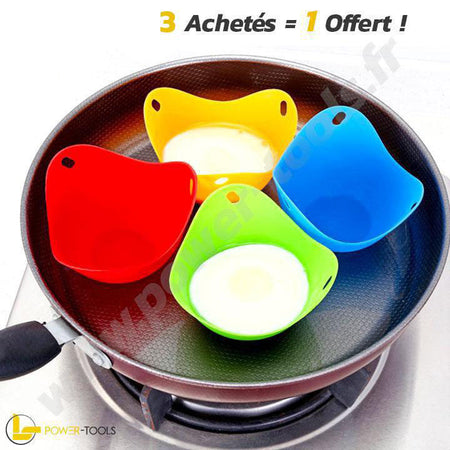 POCHEUSES EN SILICONE | POWER-EGGS
