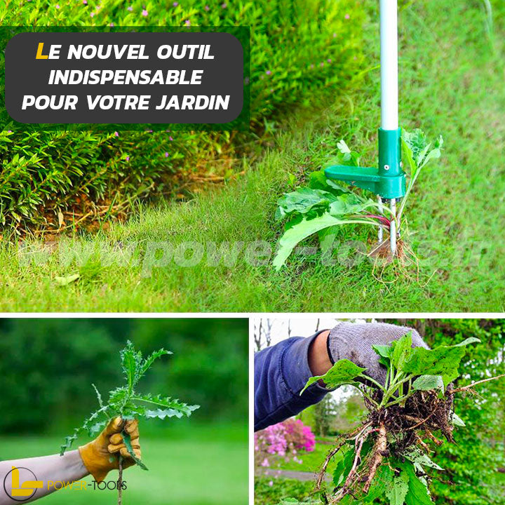 EXTRACTEUR MAUVAISES HERBES | POWER-GRASS PRO20