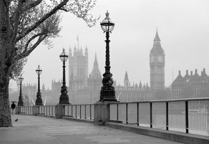 Wizard+Genius London Fog Fotobehang 366x254cm | Yourdecoration.be