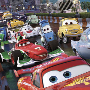 Komar Cars Race Fotobehang 254x184cm | Yourdecoration.be