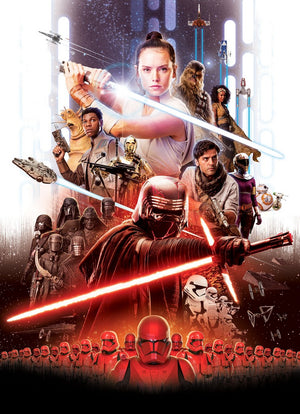 Komar Star Wars EP9 Movie Poster Rey Fotobehang 184x254cm 4-delig | Yourdecoration.be