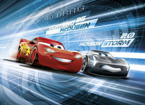 Komar Cars 3 Simulation Fotobehang 254x184cm | Yourdecoration.be