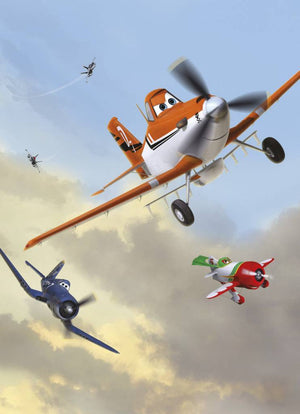 Komar Planes Dusty and Friends Fotobehang 184x254cm | Yourdecoration.be