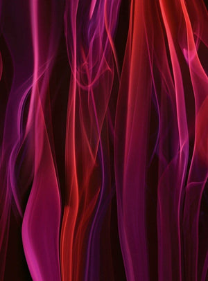 Wizard+Genius Red Smoke Vlies Fotobehang 192x260cm 4-banen | Yourdecoration.be