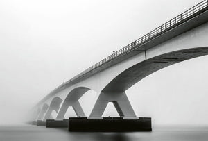 Wizard+Genius Bridge Architecture Vlies Fotobehang 384x260cm 8-banen | Yourdecoration.be