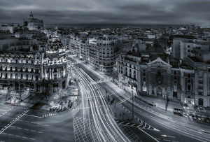 Wizard+Genius Urban Madrid Vlies Fotobehang 384x260cm 8-banen | Yourdecoration.be