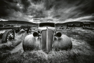 Wizard+Genius Old Classic Car Vlies Fotobehang 384x260cm 8-banen | Yourdecoration.be