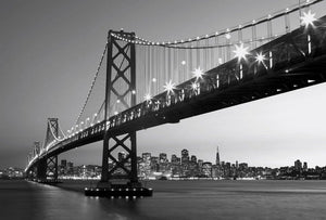 Wizard+Genius San Francisco Skyline Vlies Fotobehang 384x260cm 8-banen | Yourdecoration.be