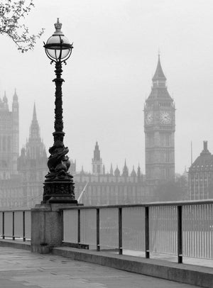 Wizard+Genius London Fog Vlies Fotobehang 192x260cm 4-banen | Yourdecoration.be