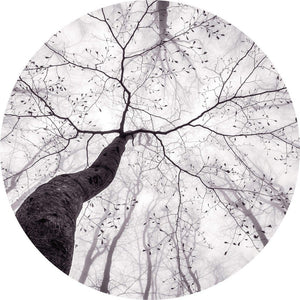 Wizard+Genius Inside the Trees Vlies Fotobehang 140x140cm rond | Yourdecoration.be