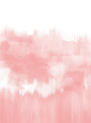 Wizard+Genius Brush Strokes Pink Vlies Fotobehang 192x260cm 4-banen | Yourdecoration.be