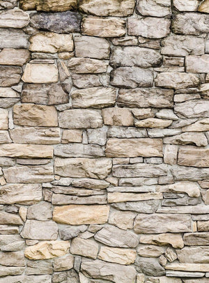 Wizard+Genius Stone Wall II Vlies Fotobehang 192x260cm 4-banen | Yourdecoration.be