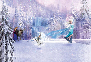 Komar Frozen Forest Fotobehang 368x254cm | Yourdecoration.be