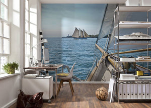 Komar Sailing Fotobehang National Geographic 368x254cm | Yourdecoration.be
