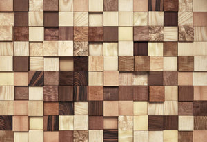 Komar Lumbercheck Fotobehang 368x254cm | Yourdecoration.be