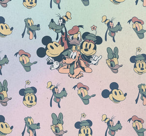 Komar Mickey Fab5 Vlies Fotobehang 300x280cm 6-banen | Yourdecoration.be